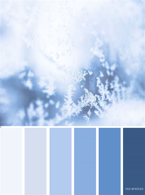 winter color schemes blue color palette winter colour inspiration color
