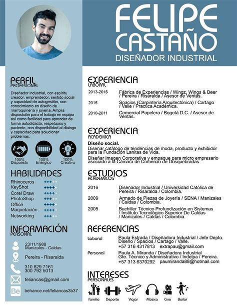 Plantillas De Curriculum Vitae Normal m 225 s de 25 ideas incre 237 bles sobre plantillas para