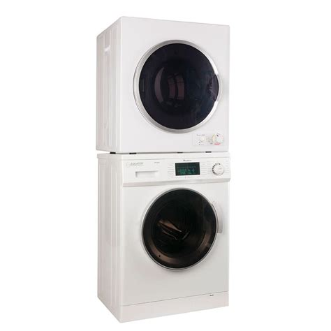 washer and dryer stackable stackable washer and dryer equator advanced appliances ew 820 ed 850 washer dryer combos