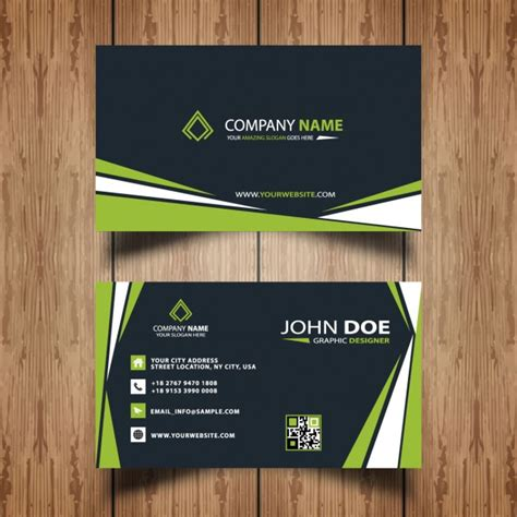 professional business card templates free professional business card template vector free