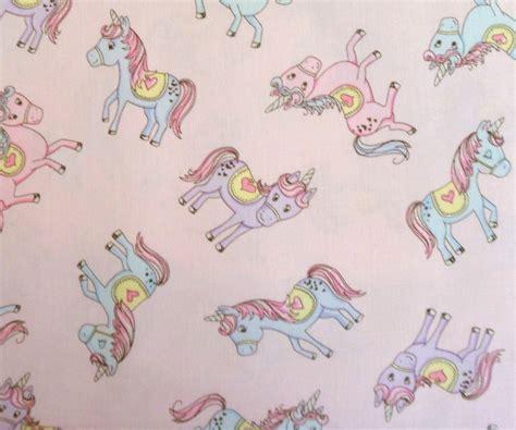 unicorn pattern fabric unicorn fabric pink unicorn fabric girls pony material