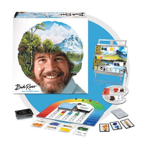 bob ross painting board the wizard always wins a big g creative