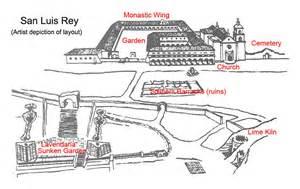 mission san luis de francia floor plan san luis rey de francia california missions resource center