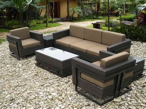 can rattan furniture be used outdoors modern black wicker outdoor furniture design all home decorations