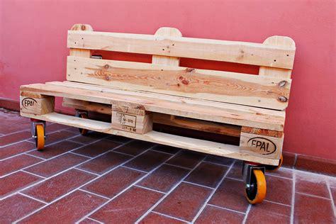 immagini panchine panchina di bancali faidate tutorial divano di