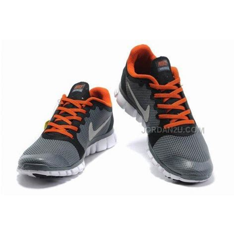 nike free run 3 womens shoes grey orange price 69 00