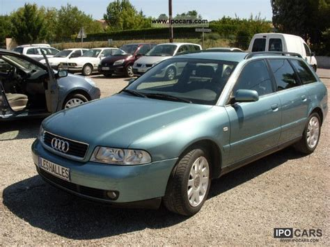 Audi A4 V6 Specs by 2000 Audi A4 Avant 2 5 V6 Tdi Pack A Car Photo And Specs