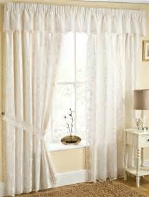 Lined Curtains Fiji Fully Lined Lace Curtains With Butterflys