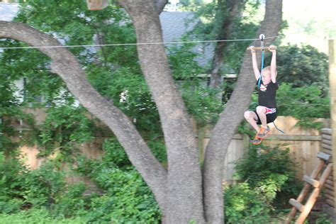 backyard zip line 187 backyard