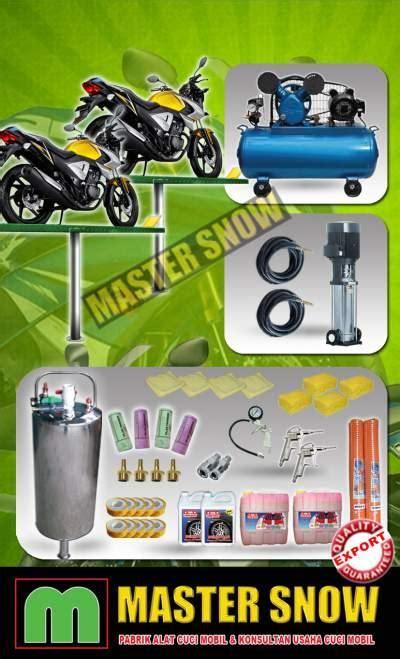 Alat Mesin Cuci Sepeda Motor jual sepeda motor dan mobil paket alat cuci hidrolik motor 2 harga murah jakarta oleh pt