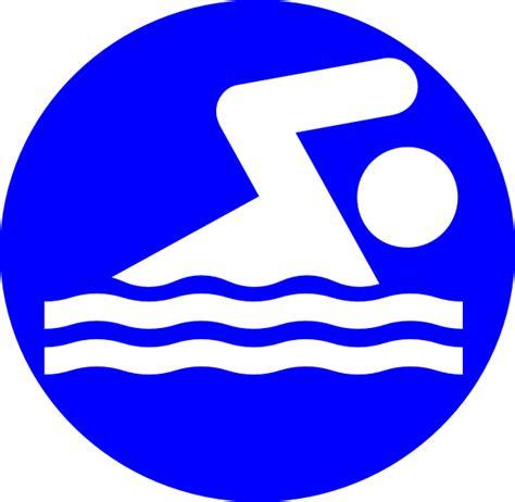 logo clipart white swimmer logo clip at clker vector clip