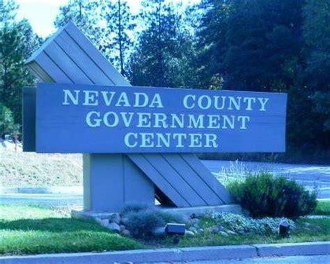 nevada county government center nevada city, california
