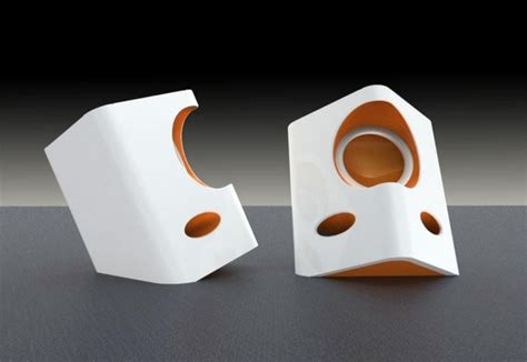 speaker designer screaming speakers yanko design