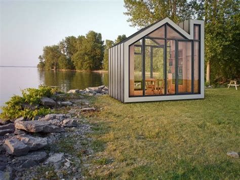 Tiny House Concept by Prefab And Modern Bunkie Tiny House Concept