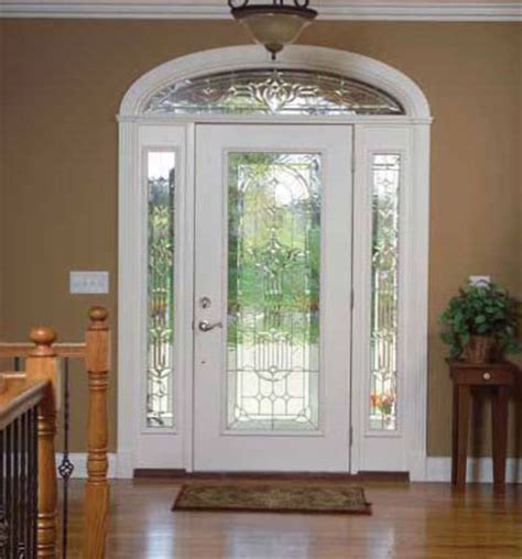 Front Door Glass Panels Doors Gallery Glass Front Entry Doors