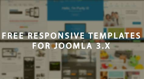 best free responsive templates for joomla 3 x
