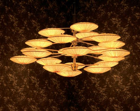 Sunsa Chandelier By Aqua Creations Asian Chandeliers Japanese Chandeliers