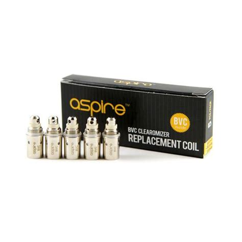 Coil Aspire Coil Vapor Replacement Coil Peelr aspire bvc replacement coils atomizer heads 5 pack vapor authority