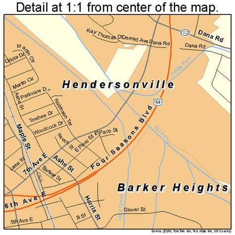 hendersonville carolina map hendersonville carolina map 3730720