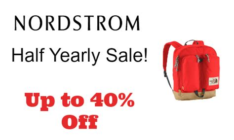 Sale Alert Nordstroms Half Yearly Sale by Nordstrom Up To 40 Northface Southern Savers