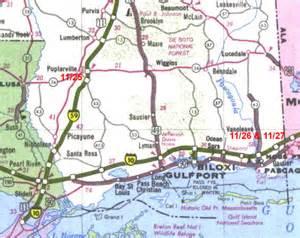 map of florida panhandle and alabama map
