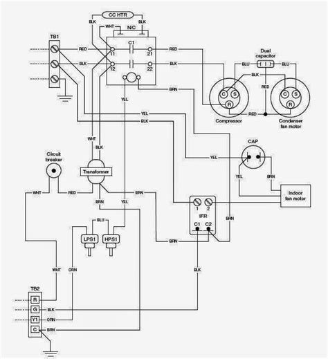 residential ac system diagram wiring diagram schemes
