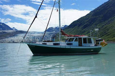 boat financing seattle 1977 used schucker 436 cutter sailboat for sale 69 000