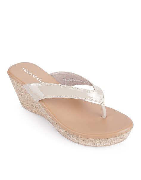 Sandal Yongki Komaladi 37 39 yongki komaladi wedges sandal camel mataharimall
