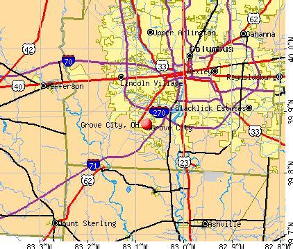 Grove City Ohio Map by Grove City Ohio Oh 43123 Profile Population Maps