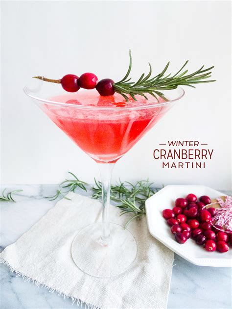 martini winter winter cranberry martini healthfully ever after