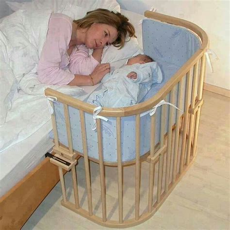 Side Of Bed Crib Bed Side Baby Crib Baby Nunes Pinterest