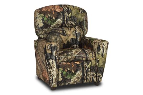 recliner with cupholder in mossy oak country by