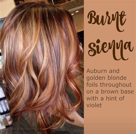 fall highlights for brown hair auburn hair with golden highlights fall 2015 hair color