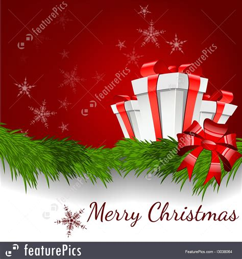 holidays merry christmas background vector stock illustration   featurepics
