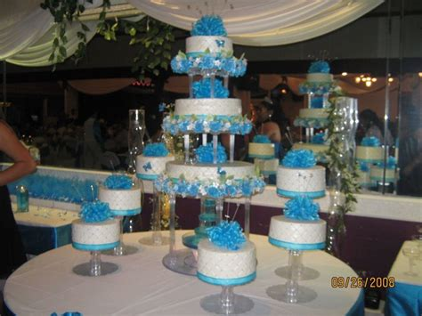 Quinceanera Cakes Gallery by The Gallery For Gt Quinceanera Cakes Blue