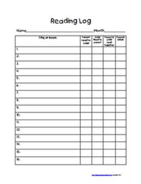 printable reading log middle school middle school reading logs monthly northeast middle