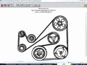 2002 Ford Focus Belt Diagram Need A Belt Diagram For 2002 Ford Focus Zx5 Fixya