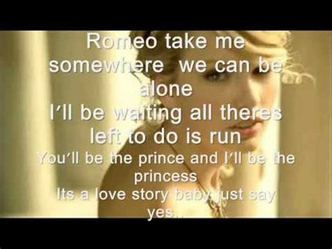 printable lyrics to love story by taylor swift love story taylor swift lyrics youtube