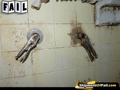 Faucet Wrench Home Depot Shower Handles Fail Home Amp Garden Do It Yourself Home