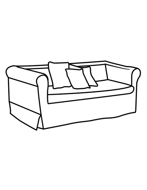 big comfy couch coloring pages coloring home