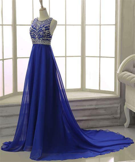 royal blue prom dresses royal blue beading prom dress long prom dresses charming