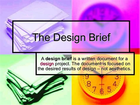 design brief for technology hsc design and technology the design brief
