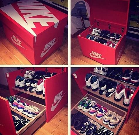 how to make shoe boxes for storage custom nike shoe box http www freshnessmag 2014 11