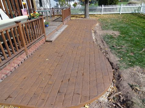 colored concrete walkways 28 images gs flatwork llc