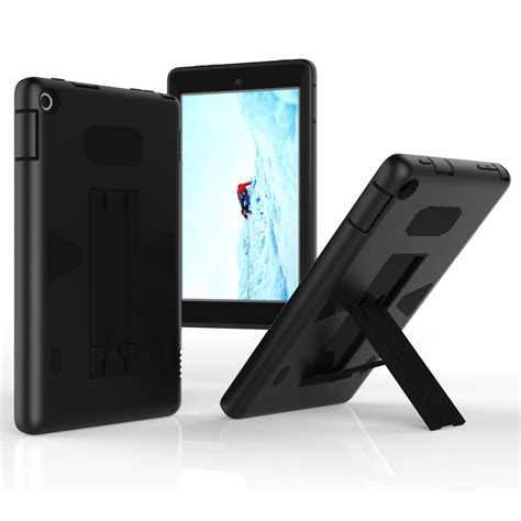 Cover For Hd 8 hybrid rugged shockproof heavy stand cover for kindle hd 8 2016 ebay