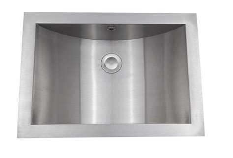 stainless steel bathroom as344 21 quot x 15 quot x 6 quot 18g single bowl undermount legend