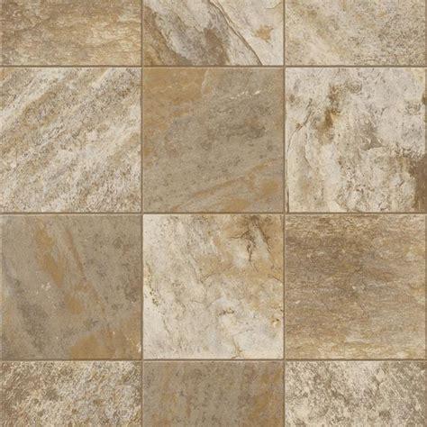 Congoleum Vinyl Flooring by Shop Congoleum 12 Ft W Brown Tile Low Gloss Finish