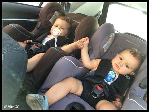 comment detacher un siege de voiture s 233 rie 171 oh vous avez des jumeaux mais comment faites