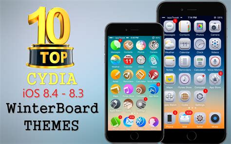 new themes winterboard top 10 brand new cydia winterboard themes for ios 8 4 8 3