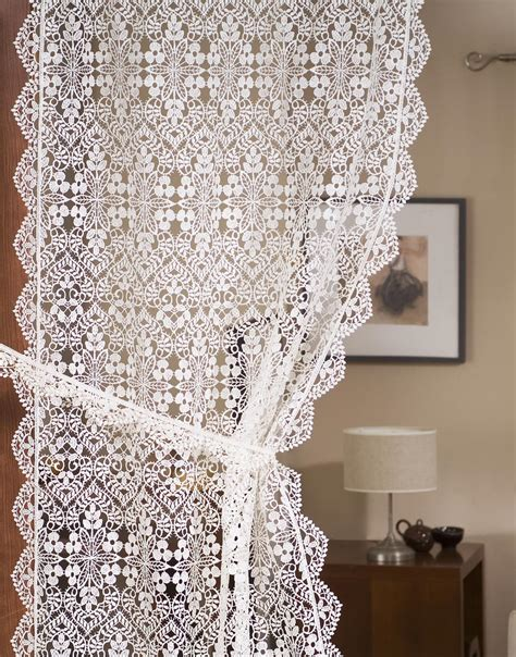 french macrame lace curtains french macrame curtain
